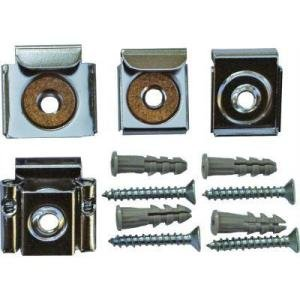 Mirror mounting clips